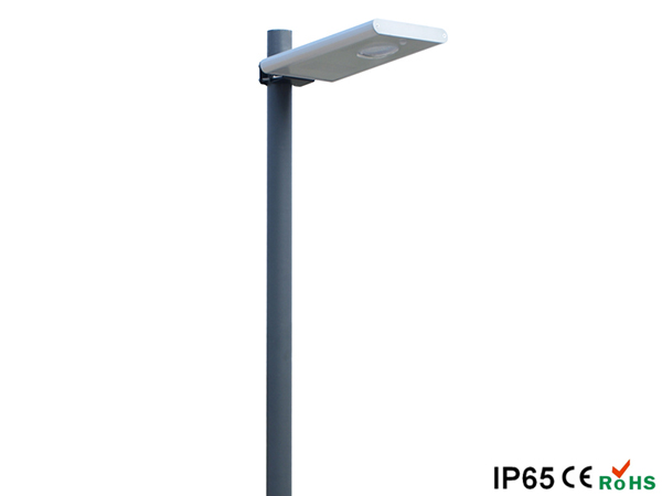 Square integrated solar LED garden lamp 10W